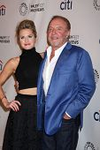 Maggie Lawson and James Caan at the PaleyFest Previews:  Fall TV ABC , Paley Center for Media, Beverly Hills, CA 09-10-13