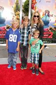 Kim Raver and family at the