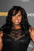 Amber Riley at the 2013 Entertainment Weekly Pre-Emmy Party, Fig& Olive, Los Angeles, CA 09-20-13