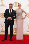 Alec Baldwin and Ireland Baldwin at the 65th Annual Primetime Emmy Awards Arrivals, Nokia Theater, L