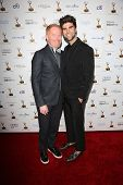 Jesse Tyler Ferguson and Justin Mikita at the 65th Annual Emmy Awards Performers Nominee Reception,
