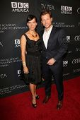 Jamie Bamber and Kerry Norton at the BAFTA Los Angeles TV Tea 2013, SLS Hotel, Beverly Hills, CA 09-