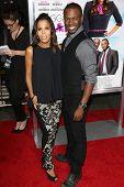 Aonika Laurent and Sean Patrick Thomas at the