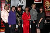 Ilene Graff, Geri Jewell, Judy Tenuta, Dawn Wells, Michael Learned and Kate Linder at