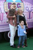 Leigh Allyn Baker and family at Disney Junior's