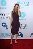 Hilary Swank at the Joyful Heart Foundation celebrates the No More PSA Launch, Milk Studios, Los Angeles, CA 09-26-13