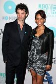 James Frain and Marta Cunningham at the Joyful Heart Foundation celebrates the No More PSA Launch, M