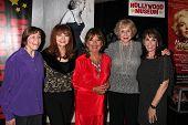 Geri Jewell, Judy Tenuta, Dawn Wells, Michael Learned and Kate Linder at
