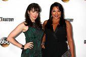 Danielle Bisutti and Sara Ramirez at the