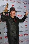 Carlos Santana at the 2013 NCLR ALMA Awards Press Room, Pasadena Civic Auditorium, Pasadena, CA 09-2
