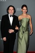Gustavo Dudamel and  Eloisa Knife Maturen at the Walt Disney Concert Hall 10th Anniversary Celebration, Walt Disney Concert Hall, Los Angeles, CA 09-30-13