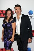 Iliana Gulbert and Jose Yenque at the