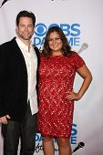 Michael Muhney and Angelica McDaniel at the CBS Daytime After Dark Event, Comedy Store, West Hollywo