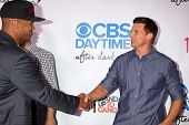 Shemar Moore and Steve Burton at the CBS Daytime After Dark Event, Comedy Store, West Hollywood, CA