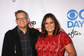 Drew Carey and Angelica McDaniel at the CBS Daytime After Dark Event, Comedy Store, West Hollywood, CA 10-08-13
