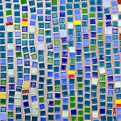 Pattern Of Colorful Mosaic As Background