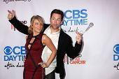 Michael Muhney and Kim Matula at the CBS Daytime After Dark Event, Comedy Store, West Hollywood, CA