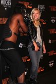 Olivia Holt at the 8th Annual LA Haunted Hayride Premiere Night, Griffith Park, Los Angeles, CA 10-1
