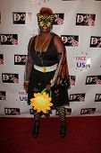 Empress Williams at the Monster Man Costume Ball, Cabo Wabo, Hollywood, CA 10-16-13