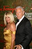 Suzanne Somers and Alan Hamel at the Wallis Annenberg Center For The Performing Arts Inaugural Gala,