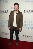 Spencer Boldman at the
