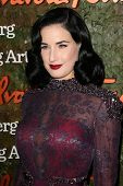 Dita Von Teese at the Wallis Annenberg Center For The Performing Arts Inaugural Gala, Wallis Annenberg Center For The Performing Arts, Beverly Hills, CA 10-17-13