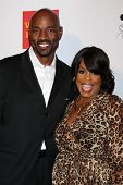 Niecy Nash and husband Jay Tucker at the 2013 GLSEN Awards, Beverly Hills Hotel, Beverly Hills, CA 10-18-13