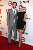 Brant Daugherty and Peta Murgatroyd at the 2013 GLSEN Awards, Beverly Hills Hotel, Beverly Hills, CA 10-18-13