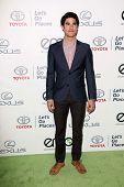 Darren Criss at the 23rd Annual Environmental Media Awards, Warner Brothers Studios, Burbank, CA 10-19-13