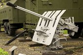 Russian Anti Aircraft Gun
