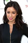 Christian Serratos at the 23rd Annual Environmental Media Awards, Warner Brothers Studios, Burbank,