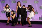 Fifth Harmony at the Hub Network First Annual Halloween Bash. Barker Hangar, Santa Monica, CA 10-20-13
