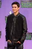 Keean Johnson at the Hub Network First Annual Halloween Bash. Barker Hangar, Santa Monica, CA 10-20-13