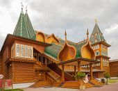 Wooden Palace Of Russian Tsar Alexey Mikhailovich
