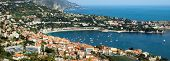 City Of Nice - Aerial View Of Villefranche-sur-mer
