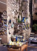 Tourist shop, Ravello.