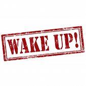 Wake Up-stamp