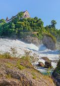 The Rhine Falls In Summer, HDR