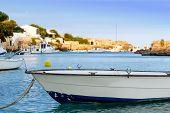 Little Boat On A Sea Loch, Menorca