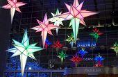 Light Decorations Time Warner Building