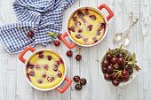 Clafoutis With Cherries