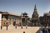 The Famous Durbar Square Of Bhaktapur