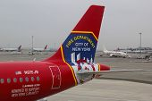 JetBlue Airbus A320 Honoring the brave men and women Fire Department City of NY tailfin
