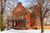 Brick Turn Of The Century House