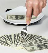 Money Dollars Wealth Millionaire businessman victory