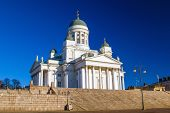 Helsinki Cathedral or St Nicholas' Church - the biggest landmark of the city built in 1852, Finland.