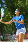 MOSCOW, RUSSIA - JULY 20, 2014: Federica Bacchetta of Italy in the final match against Brazil during