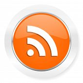 rss orange computer icon