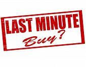 Last Minute Buy