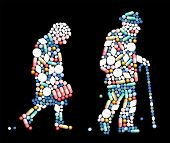 Tablets Pills Old People